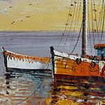 painting of boats[explored] thumbnail
