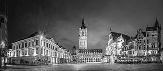 Gent bei Nacht / Ghent at night