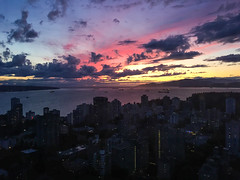Cloud Nine Views 5 (EXPLORED) (Katrina Wright) Tags: cloudnine revolvingrestaurant scenic vancouver bluehour goldenhour sunset img0278