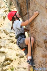 Venturing Ascent (Daniel M. Reck) Tags: 2017nationalscoutjamboree 2017jambo bsa boyscoutsofamerica dmrfeature dmrphoto glenjean mounthope nsj nationalscoutjamboree sbr scouting summitbechtelreserve therocks venturer venturing westvirginia year2017 climbing determined rockclimbing unitedstates