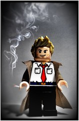 Constantine (LegoKlyph) Tags: lego custom mini figure block brick constantine dc comics tv series dark magic smoking demons ghosts gotham dcu dccomics antihero