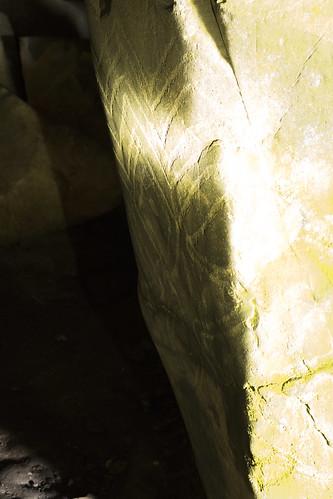 Barclodiad y Gawrres Carved Stone