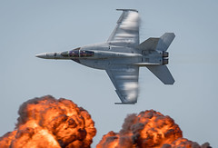 F/A-18F Super Hornet VFA-106 Gladiators 166467 247 AD (Vortex Photography - Duncan Monk) Tags: vfa vfa106 106 247 ad gladiators 166467 f19 fa18 fa18f super hornet bug jet aircraft boeing fighter attack virginia united states navy usn us vortice bang explosion wall flame nas oceana naval air station show demonstration demo
