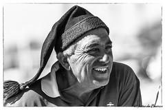 Fisherman with typical cap (JOAO DE BARROS) Tags: joão barros portrait fisherman monochrome portugal