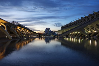 Blue hour in Valencia