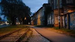 Reisijate tänav (Veiko Tubin) Tags: telliskivi baltijaam kalamaja reisijatetänav light street öö õhtu tallinn