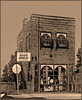(Cliff Michaels) Tags: brick building photoshop pse9 sepia knoxville tennessee bearden