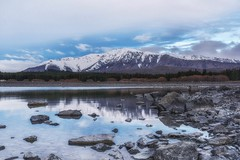 Dreamed Of Paradise (Anna Kwa) Tags: laketekapo mackenziebasin 2330ft southernalps reflections rocks snow lake southisland newzealand annakwa nikon d750 afsnikkor24120mmf4gedvr my dreams paradise lost always remember heart seeing soul throughmylens omm travel world