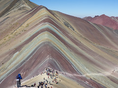 Rainbow mountains, Peru (VreSko) Tags: rainbow mountains montana peru südamerika hike hiking wandern wanderung senderismo backpacking trail trek trekking landscape travel rainbowmountains mountainscolours colour color farbe heaven ausangate