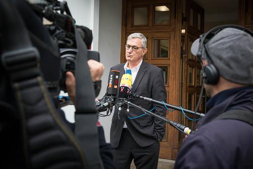 Bundespressekonferenz und Parteivorstand nach BTW