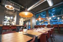 _DSC2158 (fdpdesign) Tags: pizzamaria pizzeria genova viacecchi foce italia italy design nikon d800 d200 furniture shopdesign industrial lampade arredo arredamento legno ferro abete tavoli sedie locali