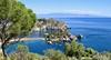 Isola Bella. Taormina. (vittorio vida) Tags: taormina sicily isola island isolabella italy europe sea beach landscape blue tree travel naxos giardini