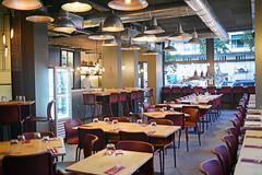 DSC_2385 (fdpdesign) Tags: pizzamaria pizzeria genova viacecchi foce italia italy design nikon d800 d200 furniture shopdesign industrial lampade arredo arredamento legno ferro abete tavoli sedie locali