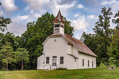 Abandoned and Unknown (Back Road Photography (Kevin W. Jerrell)) Tags: churches countryroads unioncounty sharpschapel tennessee empty abandoned backroadphotography ruralphotography ruralchurches faith days nikond7200