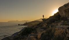 Mirando al futuro. (Amparo Hervella) Tags: cartagena españa spain paisaje naturaleza atardecer d7000 nikon nikond7000 comunidadespañola