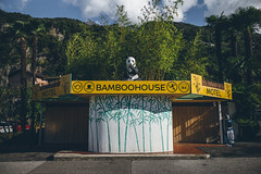 BAMBOOHOUSE (daN ⑰ (new topographics)) Tags: hotel bamboo panda newtopographics switzerland palm ticino motel