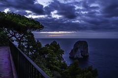 Dawn's early light (sumnerbuck) Tags: capri italy sunrise water flickrdiamond diamondclassphotographer