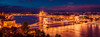 Budapest panorama (tbnate) Tags: budapest hungary nikon nikond750 d750 tamron tamron1530 ultrawideangle ultrawide panorama river duna dunariver danube danuberiver bridge széchenyilánchíd chainbridge parliament tbnate water longexposure reflection city cityscape outdoor outside evening bluehour dusk architecture clouds sky dark