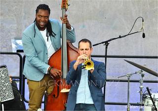Dominick Farinacci and Jon Michel, Dominick Farinacci Ensemble, Detroit Jazz Festival