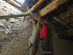 Removing the upper floor