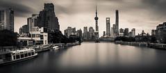 (Rob-Shanghai) Tags: shanghai china suzhoucreek leicaq pano lujiazui city cityscape