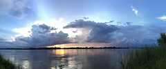 Sunset over Mekong 2017-8-8 5 (SierraSunrise) Tags: clouds mekong mekongriver nongkhai phonphisai reflections rivers skies sky storm sunset sunsets thailand water