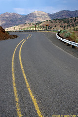 On the Road Again (walkerross42) Tags: road highway yellowline route207 oregon mountain pass