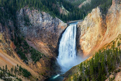 Lower Yellowstone Falls (buffdawgus) Tags: canon5dmarkiii canon70200mm28l landscape lightroom6 loweryellowstonefalls topazsw waterfall wyoming yellowstonenationalpark yellowstoneriver