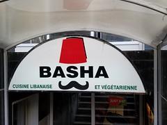 Basha (quinn.anya) Tags: logo fez mustache basha montreal