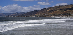 Pacific Ocean (LunarKate) Tags: us usa united states america unitedstates unitedstatesofamerica west coast westcoast cali california central beach beauty beautiful landscape seascape pacific ocean water highway 1 highway1 nikon d40 dslr may 2016 solo travel traveling