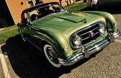 Seldom seen (The Big Jiggety) Tags: car auto automobile voiture coche machina retro beauty nash healey nashhealey