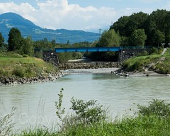 RHE228 Frutz Flussmündung (River Mouth) into the Alpenrhein River, Koblach, Austria (jag9889) Tags: 2017 20170805 at aut alpenrhein alpinerhine austria blue bridge bridges bruecke brücke confluence crossing europe feldkirch fluss frutz furtz futz infrastructure koblach oesterreich outdoor pont ponte puente punt rein reno republic rhein rhin rhine rijn river span stream strom structure tributary vorarlberg wasser water waterway jag9889