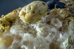 Olive Bread - Explored (SKAC32) Tags: macro bread olive canon100mmmacrof28 loaf macromondays food
