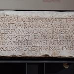 Paelignian epitaph of the priestess Primia Petiedia, from Corfinium (1) thumbnail