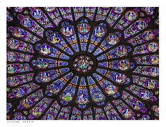 Fenêtre de Rose du nord, Cathédrale Notre-Dame de Paris, circa 1270. (Richard Murrin Art) Tags: fenêtrederosedunord cathédralenotredamedeparis circa1270 richard murrin art photography canon 5d landscape travel images building cool