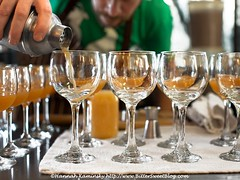 Pour-fection (Bitter-Sweet-) Tags: vegan food soundsavor chef philipgelb feasty popup underground restaurant summer peaches matsumoto fresh oakland california bayarea eastbay gourmet finedining savory dinner meal menu setmenu drinks beverage alcohol cocktails glass