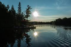 Un lac et quelques rides (www.sophiethibault.ca) Tags: 2017 août campagne ciel lac laurentidescanada quai québec