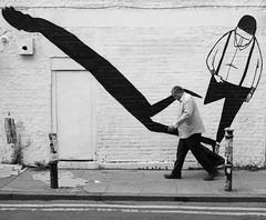 Brick Lane, London August 2017 (S.R.Murphy) Tags: monochrome bnw bw blackandwhite street streetphotography bricklane shoreditch spitalfields socialdocumentary london august fujifilmx100t art streetart