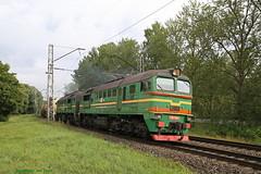 Olietrein (Maurits van den Toorn) Tags: trein train zug spoorweg railway diesel diesello locomotief engine lokomotive 2m62 lettland letland latvia riga freighttrain goederentrein güterzug