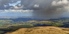 Short, Sharp Shower! (Nikki M-F) Tags: breaconbeacons hills uk wales rain weather clouds landscape view cps