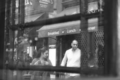Spy Games in Trafalgar Square (elisabethanne_thetravellingphotographer) Tags: london central centrallondon trafalgarsquare spy spying spygames mysterious noir blackandwhite highcontrast