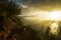 Kalalau Trail (Matt Champlin) Tags: coast coastline ocean beach beachin hawaii kauai amazing beautiful incredible tropical paradise adventure hiking camping backpacking nature travel summer canon 2017 exotic rugged mountains volcano idyllic peace peaceful landscape