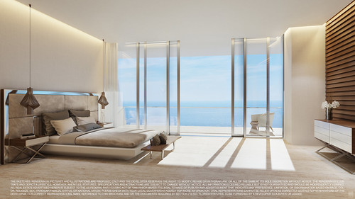 Turnberry Ocean Club-Unit D Master Bedroom