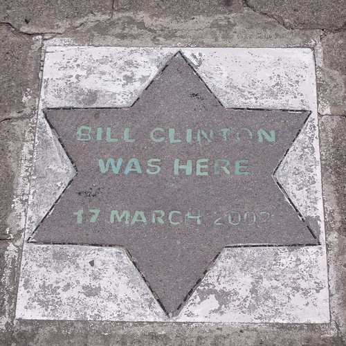 Bill Clinton Was Here