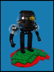 Bubbles (Karf Oohlu) Tags: lego moc figure bubbles cleardome magnets