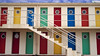 Cp Travel_041 (Ehab A.Saleh) Tags: window architecture building cabana circle color door exterior geometricshape multicolored nobody oculuswindow parallelogram primarycolors railing rectangle shape stairway