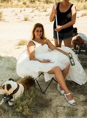 bride and beer