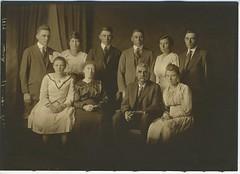1916 or so - Jacob & Alice Swank family