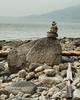 Well Balanced (brentus69) Tags: vancouver bc britishcolumbia ocean seawall rocks sculptures balanced art nikon d700 nikond700