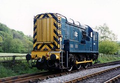 08 850 / 4018, Grosmont, NYMR. 05.2004. (Laurie Mulrine) Tags: class08 08850 4018 grosmont nymr